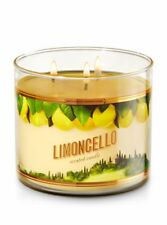 BATH & BODY WORKS ☆ LIMONCELLO ☆ 3 WICK CANDLE ☆ SWEET LEMON SCENTED CANDLE