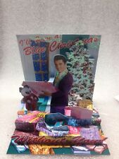 Elvis pop shot greeting card i'll have a blue christmas with out you new& sealed