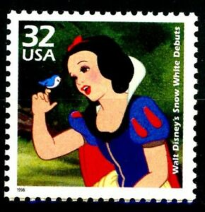 Snow White & the Seven Dwarfs Limited Production MNH US Stamp Scott's 3185H