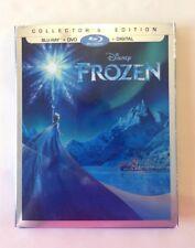Disney FROZEN Blu-Ray + DVD  + Digital New Sealed Movie Club Exclusive Sleeve