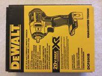 "New Dewalt DCF890B 3/8"" 20V Max XR Brushless Cordless Impact Wrench NIB"