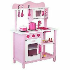 boppi Pink Wooden Toy Kitchen Accessories Set