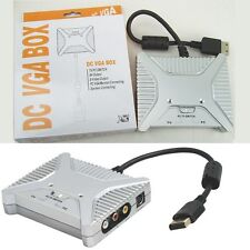 VGA/AV/S-VIDEO HD HDTV Adaptor Switch Box for Sega Dreamcast console - new boxed