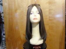 "Malky European Sheitel  22"" long Multidirectional Wig Medium Brown /Highlights"