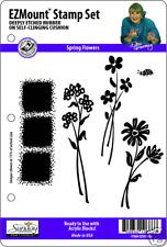 SPRING FLOWERS STAMP SET  5 EZ Mount Stamps Dee Gruenig