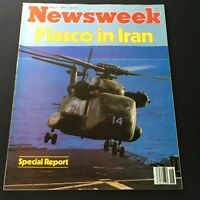 VTG Newsweek Magazine May 5 1980 - Special Report on Fiasco in Iran / Newsstand