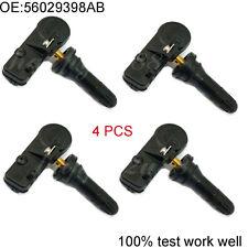 SET (4) For Dodge Chrysler Jeep RAM 433MHZ Tire Pressure Sensor TPMS 56029398AB