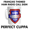 Français French France Themed Ham Amateur Radio Call Sign CB Handle or Name
