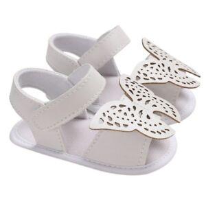 Zapatos Calzado De Bebe Para Niña Mariposas Sandalias Para Bebes Recién Nacidas