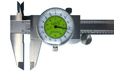 "iGaging Fractional Dial Caliper 6"" Inside Outside Depth Gauge Read 0.01 or 1/64"""