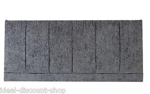 "36"" inch TALL Headboard WINDSORE Design in CHENILLE 3FT, 4FT, 4FT6, 5FT, 6FT"
