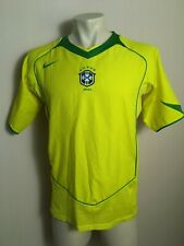 BRAZIL NATIONAL TEAM 2004 2006 WORLD CUP HOME FOOTBALL SHIRT SOCCER