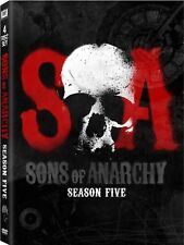Sons of Anarchy ~ Complete 5th Fifth Season 5 Five ~ BRAND NEW 4-DISC DVD SET
