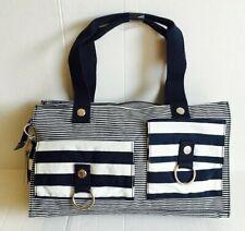 Kipling Elba Love Boat Medium Shoulder Bag Handbag - Blue Stripe NWT