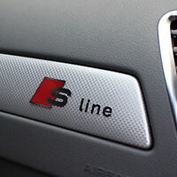 S Line Car Silver Interior Alloy High Quality Decal Emblems Sticker All Model