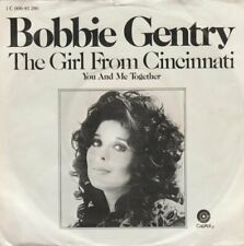 """Bobbie Gentry The Girl From Cincinnati / You And Me Together 7"""" 1972 Capitol"""