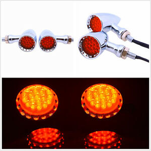 2X Ultra Bright Waterproof 20LED Red Motorbike Stop Brake/Turn Signal Tail Light