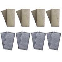 8 x Compatible Fluval U2 Foam and Polycarbon Cartridges Internal Filter Sponges