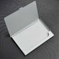 Stainless Steel Business ID Credit Card Metal Case Fine Box Holder Pocket Hot CH