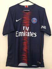 Nike Dri-Fit 2018 PSG Fly Emirates Neymar Jr #10 Home Jersey Size Large