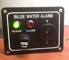 "Marine Boat Bilge Alarm Pump Switch Aluminum Plate 3.25"" by 2.5"" LED Indicators photo"