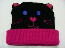 KITTY CAT - YOUTH SIZE STOCKING CAP BEANIE HAT!