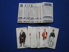 Player's Cigarette Cards - ' Ceremonial and Court Dress  '  set of 25  - 1911