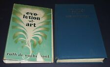 1929 First in Dust Jacket of Evolution of art by Ruth De Rochemont Illustrated