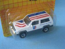 Matchbox Jeep Cherokee 4x4 Ski Patrol 70mm Toy Model Car Rescue in BP Skiing