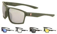 Wholesale 12 Pairs KHAN Crosshatch Shield Sports Sunglasses