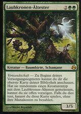 Laubkronen-Ältester / Leaf-Crowned Elder | EX | Morningtide | GER | Magic MTG