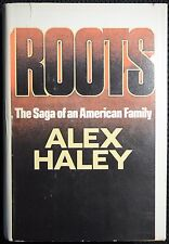 """Alex Haley signed Roots - inscribed in 1984 """"with Brotherly Love"""""""