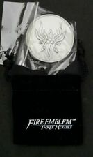 Fire Emblem 3 Three Houses Double Sided Coin & Pouch Nintendo Pre Order Bonus