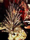 Vintage Mid Century EverGleam 7' Pom Pom Aluminum Christmas Tree w/100 Branches