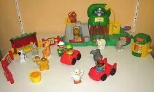 Super Fisher Price Little People Zootiere mit vielen Tieren Tierspaß Fahrzeuge
