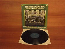 The Band of H.M. Marines Plymouth Division : The British March King  Vinyl Album