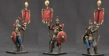 Tin toy soldiers ELITE painted 75mm Warrior with flag