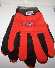 16' Cleveland Browns NFL Team Logo Utility Work Garden Cotton Gloves