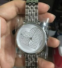 FOSSIL JACQUELINE THREE-HAND SILVER-TONE WATCH ES4375