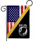 You Not Forgotten Garden Flag Service Armed Forces Decorative Yard House Banner