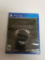 Elder Scrolls Online: Summerset for PlayStation 4 PS4 Brand New Sealed