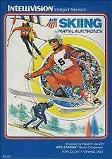 U.S. Ski Team Skiing (Intellivision, 1980) COMPLETE IN BOX GAME