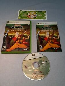 Avatar: The Last Airbender  The Burning Earth CIB Xbox 360 Untested Ships Free
