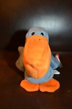 """TY Beanie Babies Collection """"Scoop"""" The Pelican DOB 07-01-96 PVC Pellets"""