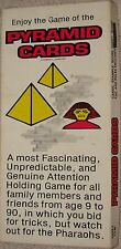 Pyramid Cards - Card Game by Robert L Jones COMPLETE Egypt Egyptian (1977) New!