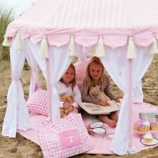 Win Green Rose Pink Pavilion and Quilt by Win Green