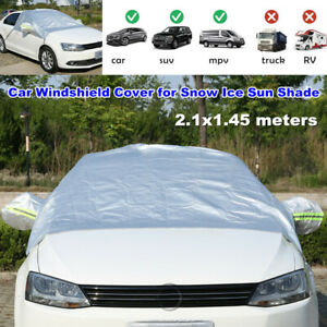 Car Windshield Cover for Snow Ice and Wiper Protector All Weather Auto Sunshade