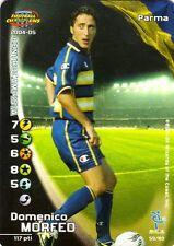 FOOTBALL CHAMPIONS 2004-05 Domenico Morfeo 59/80 Parma ITA WIZARD FOIL