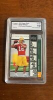 2005 UPPER DECK PREMIERE AARON RODGERS GREEN BAY PACKERS ROOKIE GMA 10