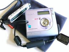 Inutilisé Sony Portable Hi-MD MINIDISC walkman enregistreur MZ-NHF800 Radio AM/FM
